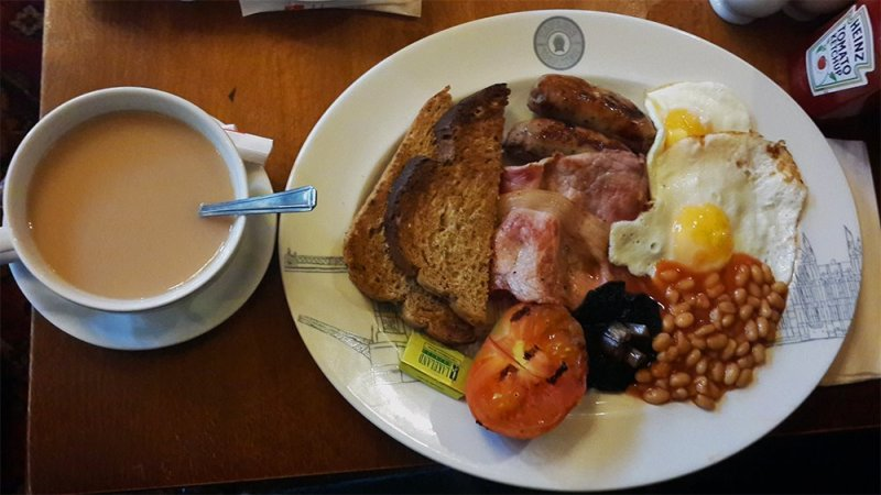 English Breakfast | 1 Day in London Walking Itinerary