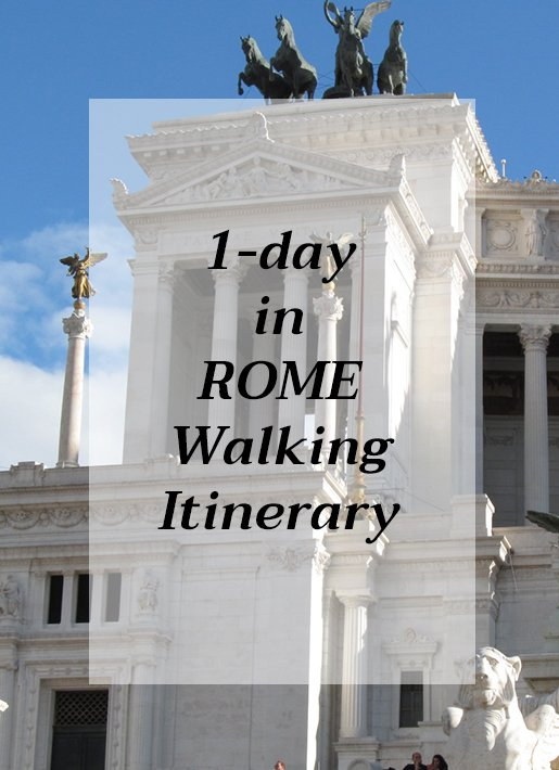 How to spend 1 day in Rome, Italy | 1 day walking itinerary of Rome, Italy | Things to do in Rome in 1 day | Places to visit in Rome in 1 day