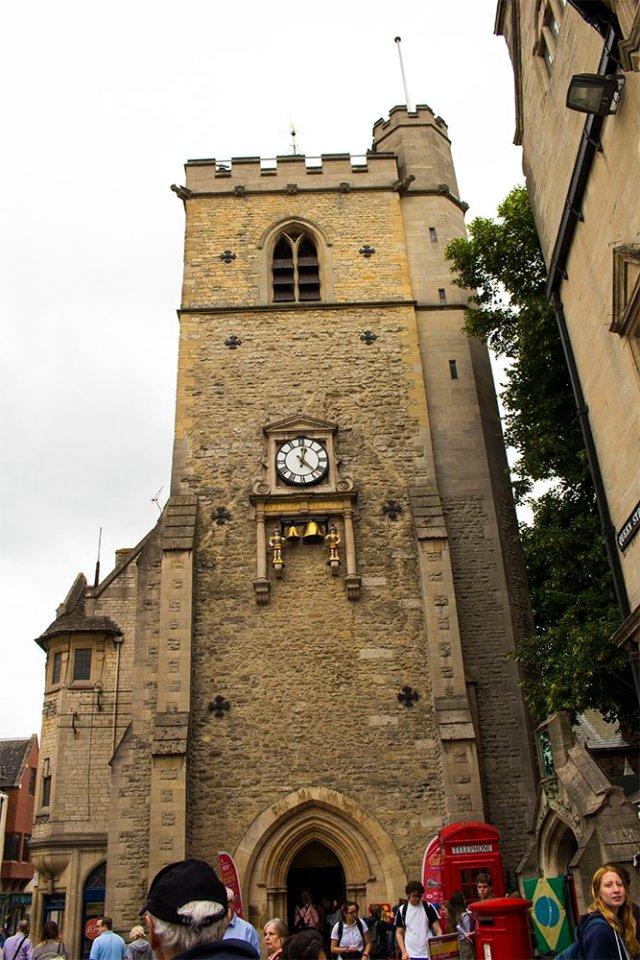 1 day in Oxford Walking Itinerary | Carfax Tower