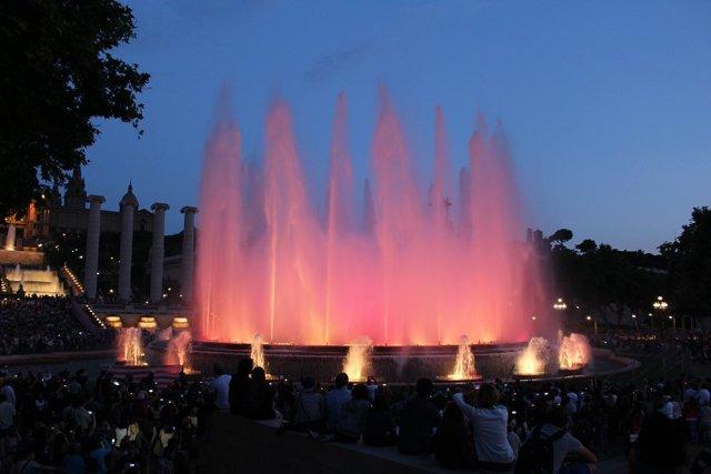 Travel tips for Barcelona, Spain   Magic Fountain