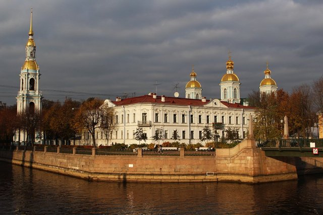 More than 20 things to do and places to see in St Petersburg | St. Nicholas Naval Cathedral