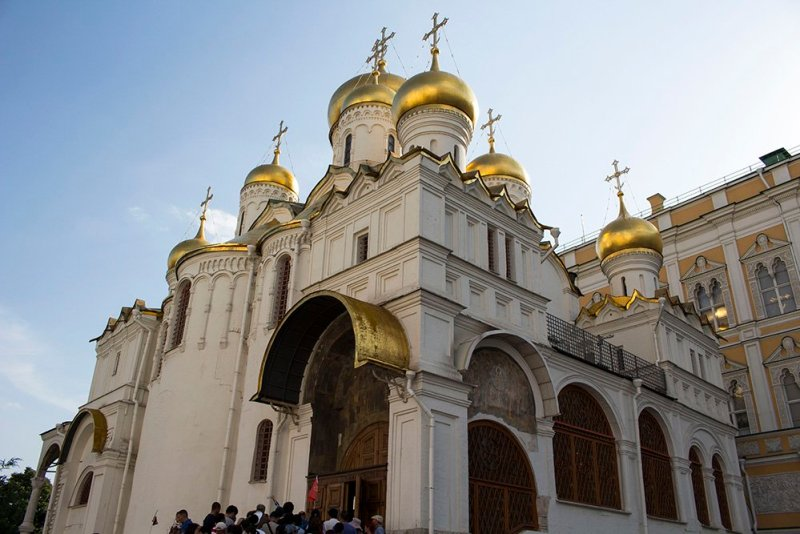 Architectural gems of Moscow, Russia | Annunciation Cathedral in the Kremlin