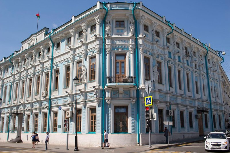 Architectural gems of Moscow, Russia | Embassy of Belarus in Maroseyka Street