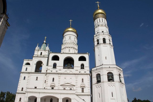 Architectural gems of Moscow, Russia | Ivan the Great Bell Tower in the Kremlin