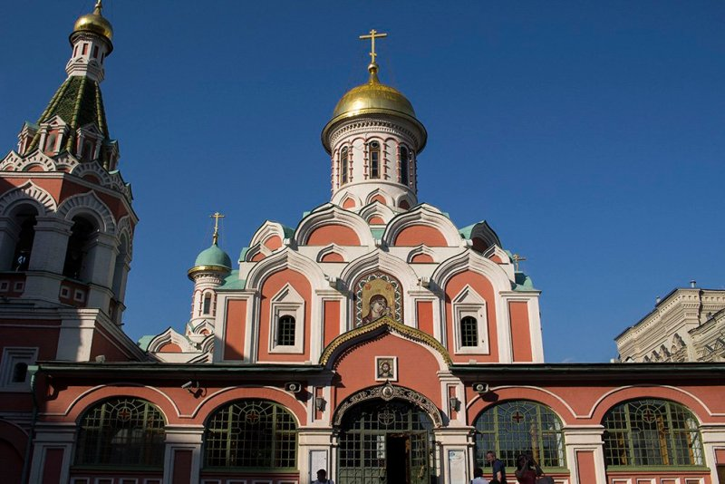 Architectural gems of Moscow, Russia | Kazan Cathedral in the Red Square