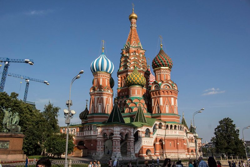 Top 10 places to see in Moscow, Russia | St Basil's Cathedral