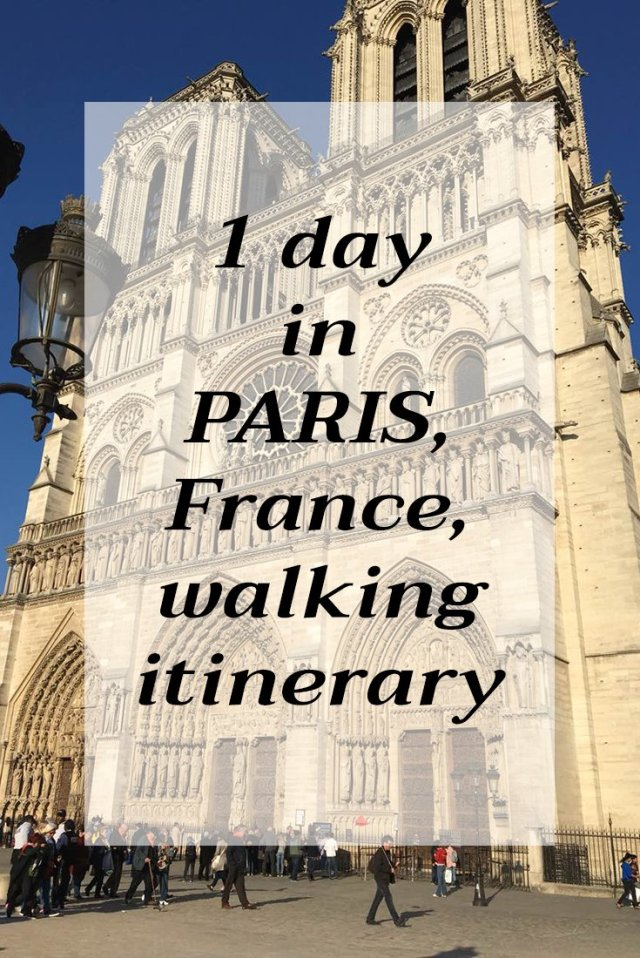 What to do in Paris, France, in one day | Paris 1-day itinerary | Places to see in France | 1 day in Paris