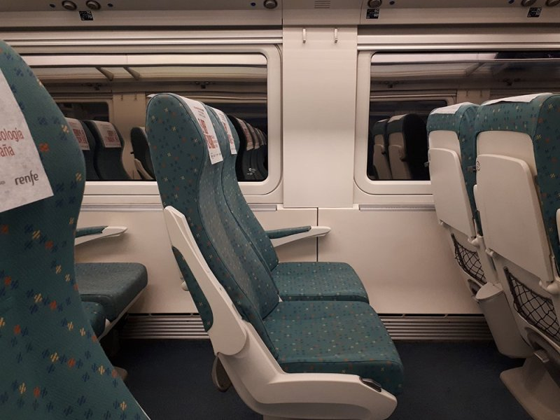 3 weeks of solo travel in Spain: 3 days in Cordoba   Renfe train