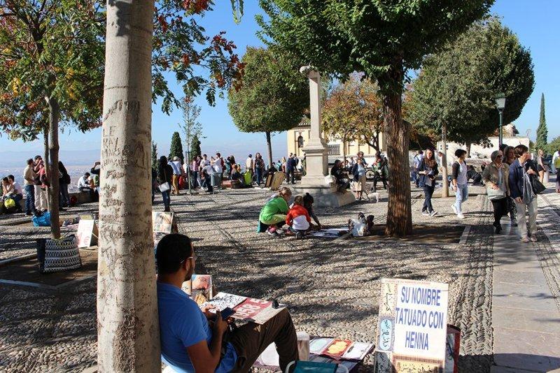 3 Weeks of Solo Travel in Spain, Part 3: things to do in Granada   Mirador San Nicolás
