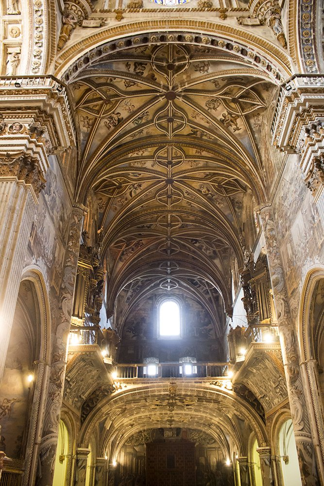 3 Weeks of Solo Travel in Spain, Part 3: things to do in Granada | Monastery of San Jerónimo de Granada