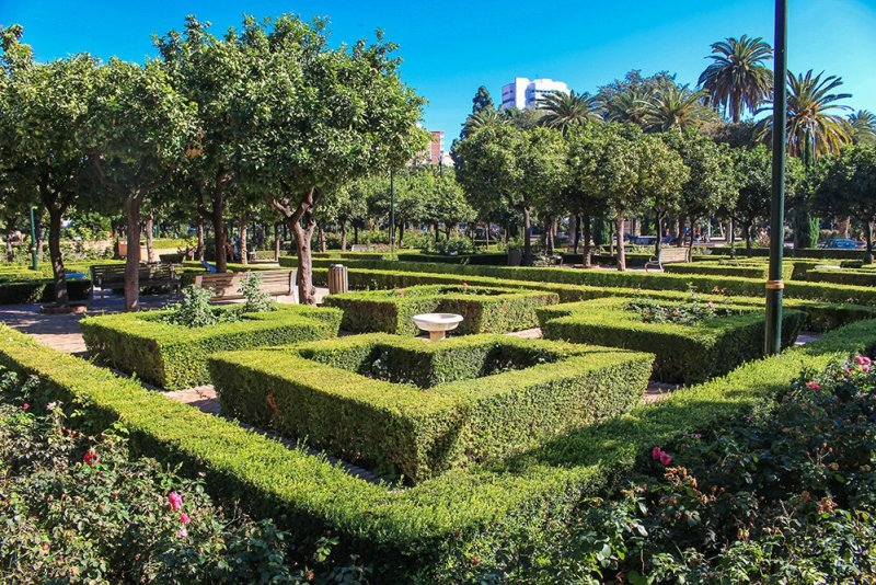 3 Weeks of Solo Travel in Spain: What to do in Malaga | Jardines de Pedro Luis Alonso