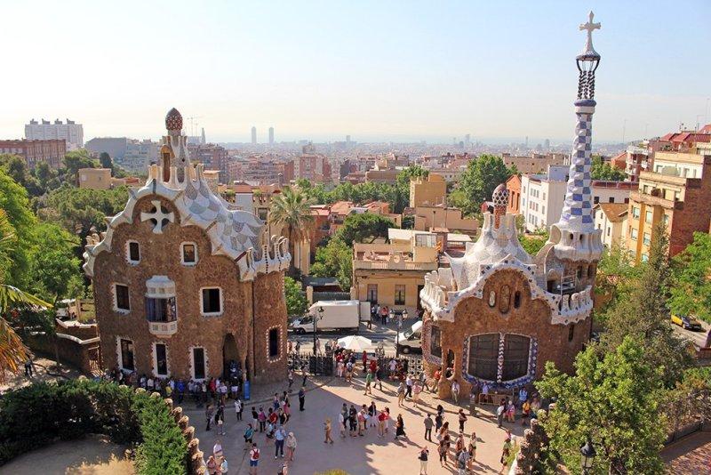 Что посмотреть в Барселоне в первый раз   Парк Гуэль