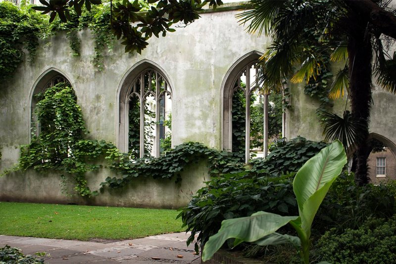 Cool things to do in London | St Dunstan in the East