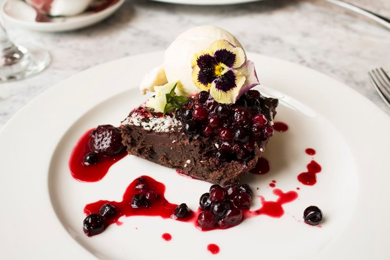Cool things to do in London | The yummy dessert in Kew Gardens
