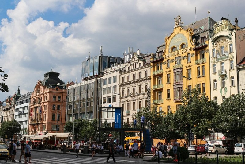 What to do in Prague for free | Wenceslas Square