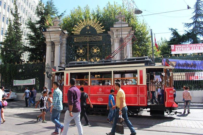 Что посетить в Стамбуле   Истикляль