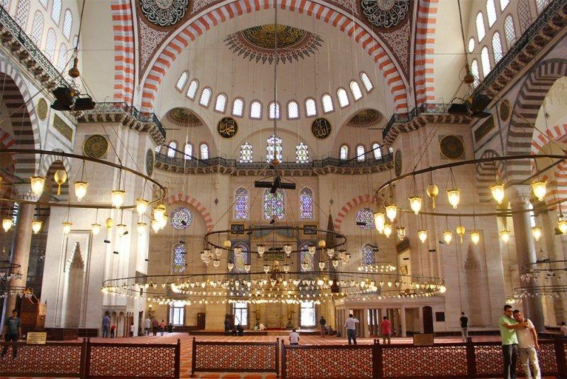 Что посетить в Стамбуле   Сулеймание