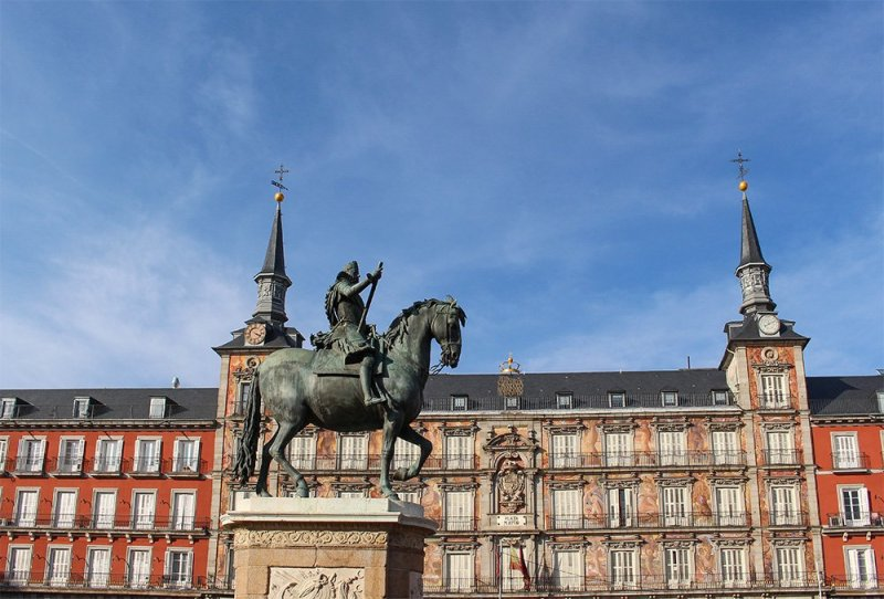 Free things to do in Madrid, Spain | Plaza Mayor