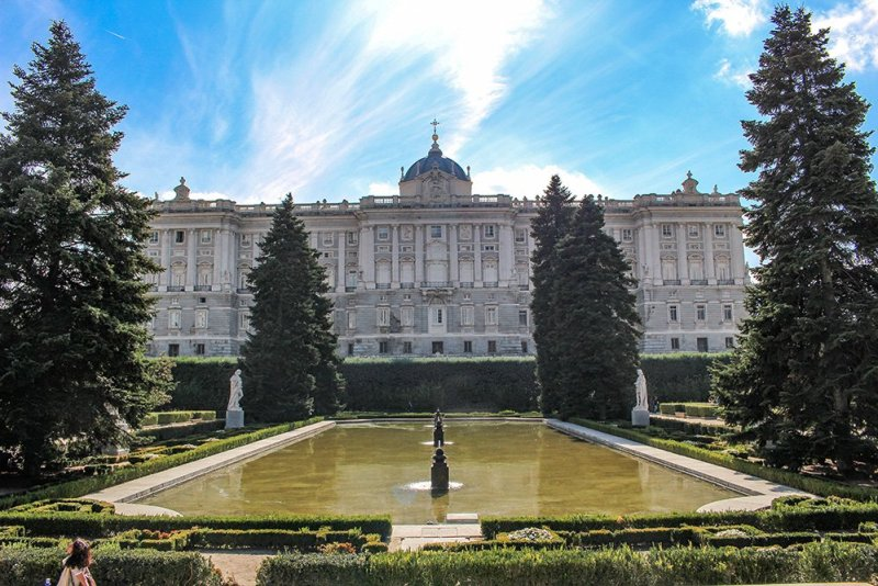 Free things to do in Madrid, Spain | Sabatini Gardens