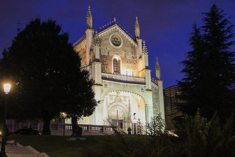 Free things to do in Madrid, Spain | The Church San Jerónimo el Real