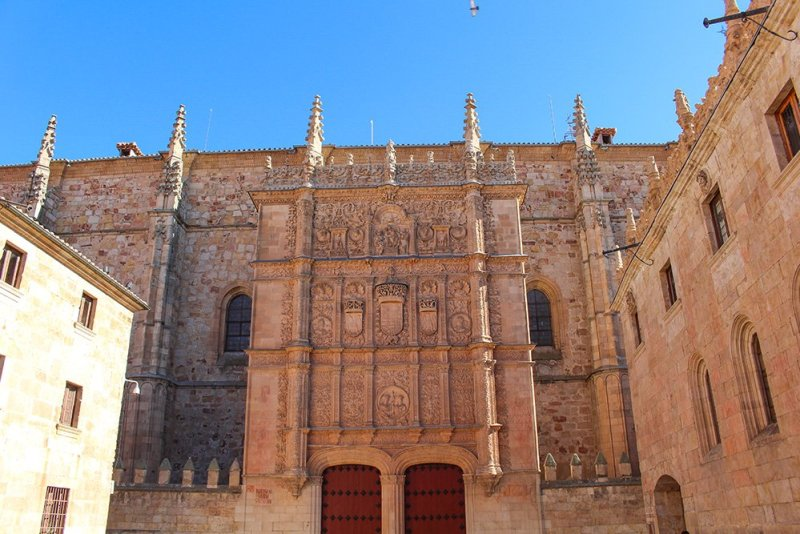 3 weeks in Spain itinerary | Escuelas Mayores of Salamanca University