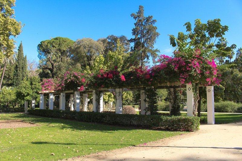3 weeks in Spain itinerary | Maria Luisa Park