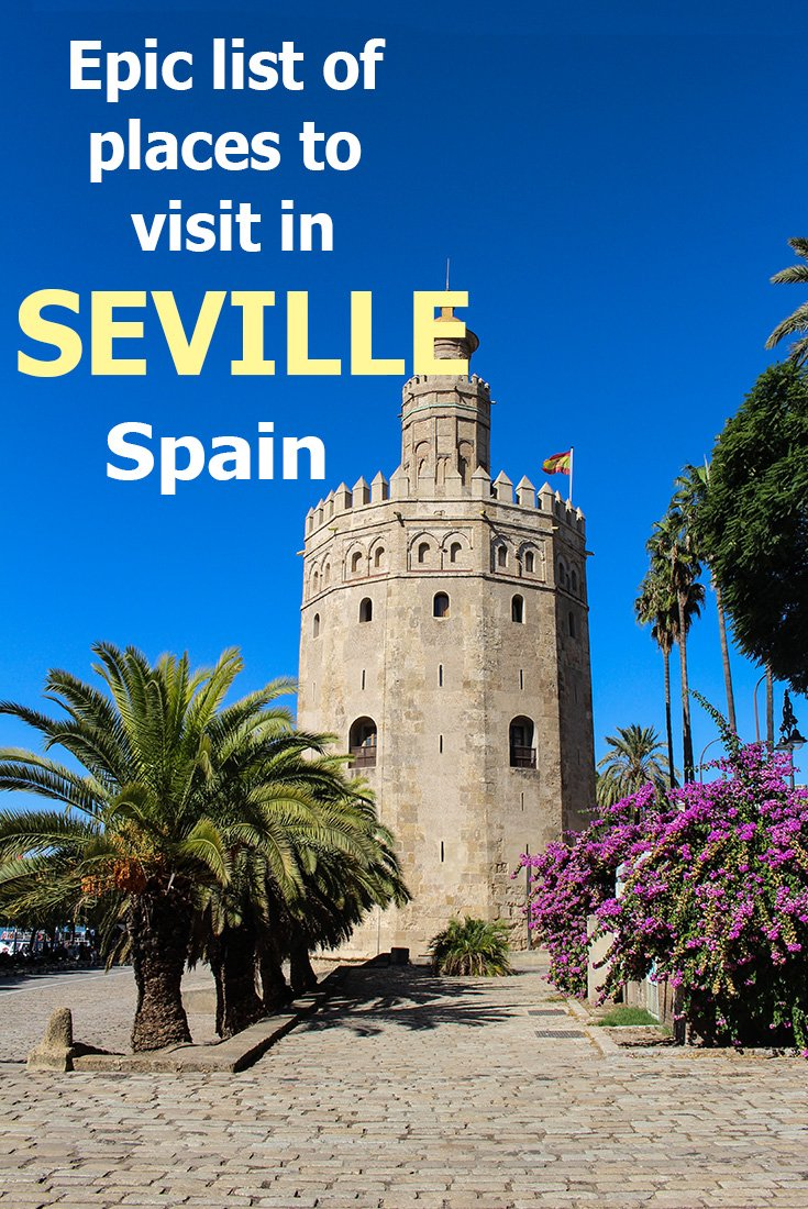 A Long List of Places to See in Seville | What to see in Seville, Spain | Tourist attractions in Seville, Spain | Top things to do in Seville, Spain | Places to visit in Seville, Spain | Points of interest in Seville, Spain | What to do in Seville, Spain