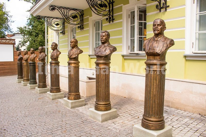 Moscow pictures: stunning photos of Moscow   In the alley of Russian rulers