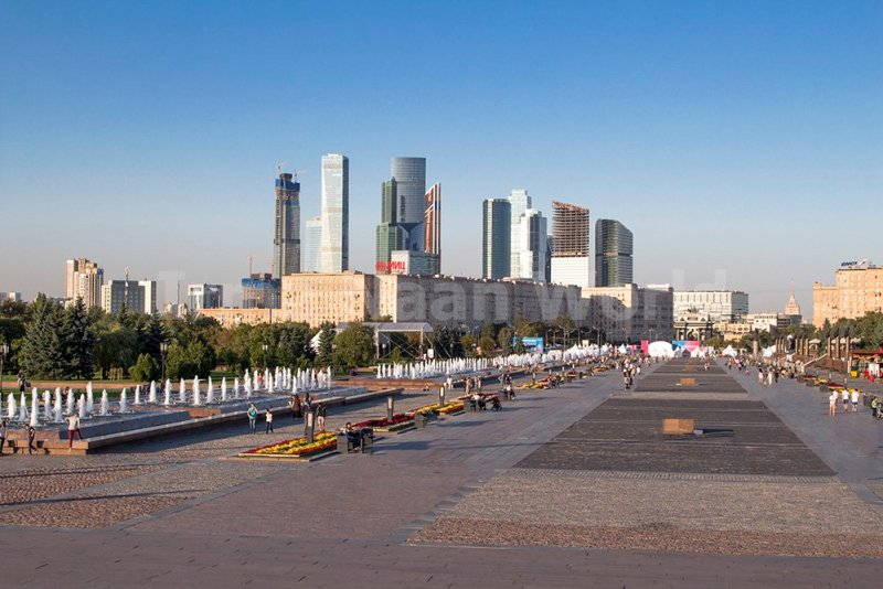 Moscow pictures: stunning photos of Moscow | View from Poklonnaya Hill in Moscow