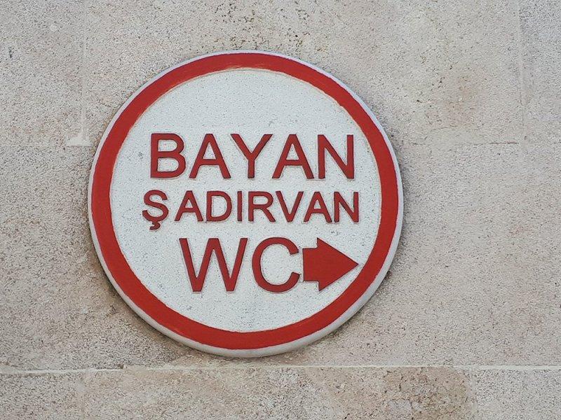 Что нужно знать перед поездкой в Стамбул | Значок туалета