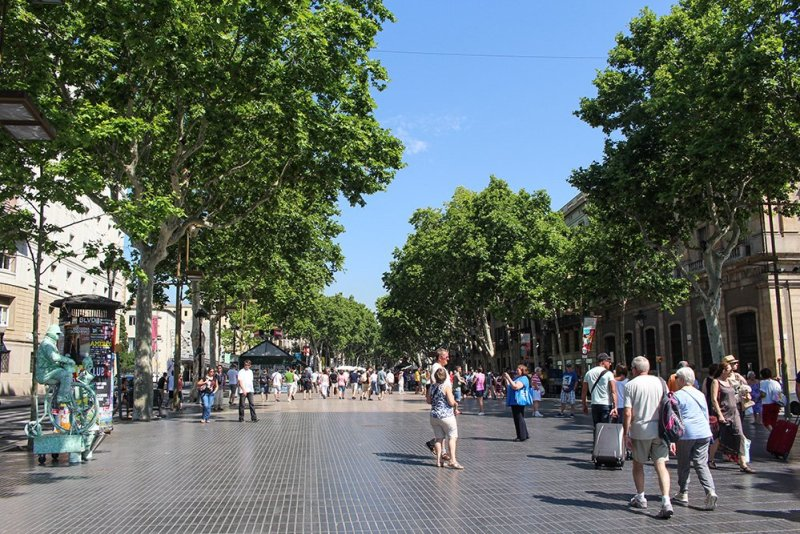What to See in Barcelona in One Day | La Rambla