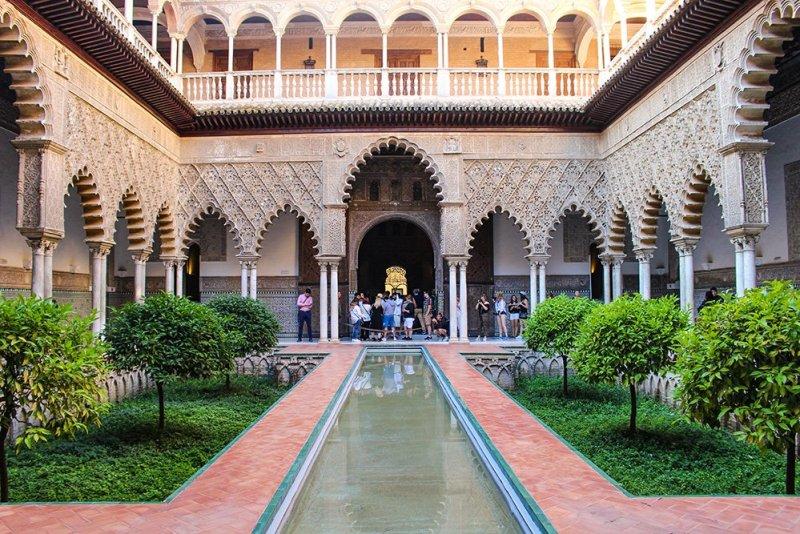 Главные и самые красивые достопримечательности Севильи | В Севильском Алькасаре
