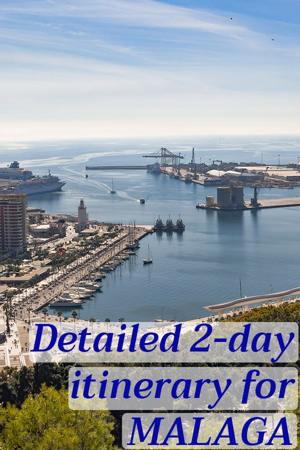 3 weeks solo in Spain: 2 days in Malaga | How to spend 2 days in Malaga, Spain | 2 days in Malaga, including where to stay, eat, go and the budget breakdown