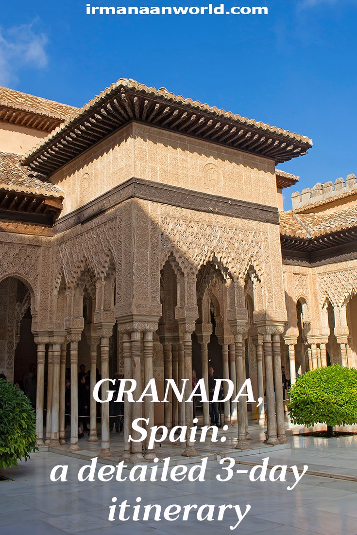 3 Weeks of Solo Travel in Spain, Part 3: 3 Days in Granada | Full Guide to Granada: budget, places to see, stay, eat | How to spend 3 days in Granada, Spain | What to do in Granada, Spain, in 3 days