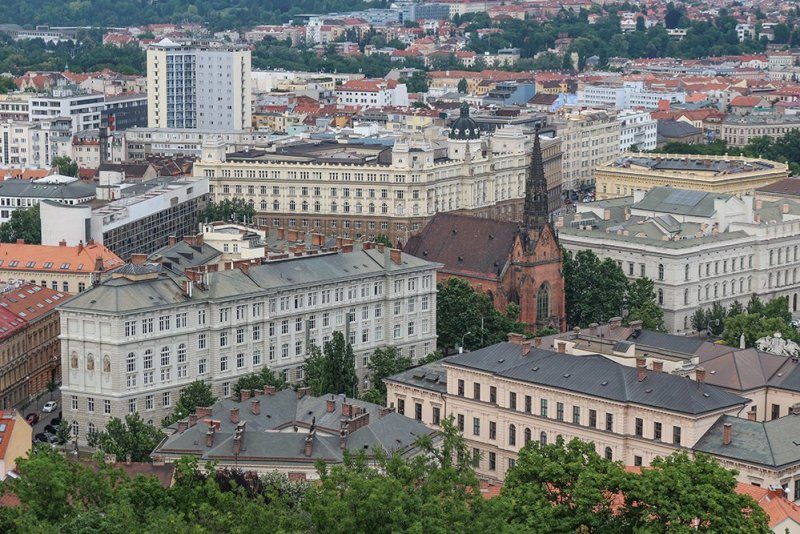 Things to do in Brno, Czech Republic, in 1 day | View from the tower of Spilberk Castle