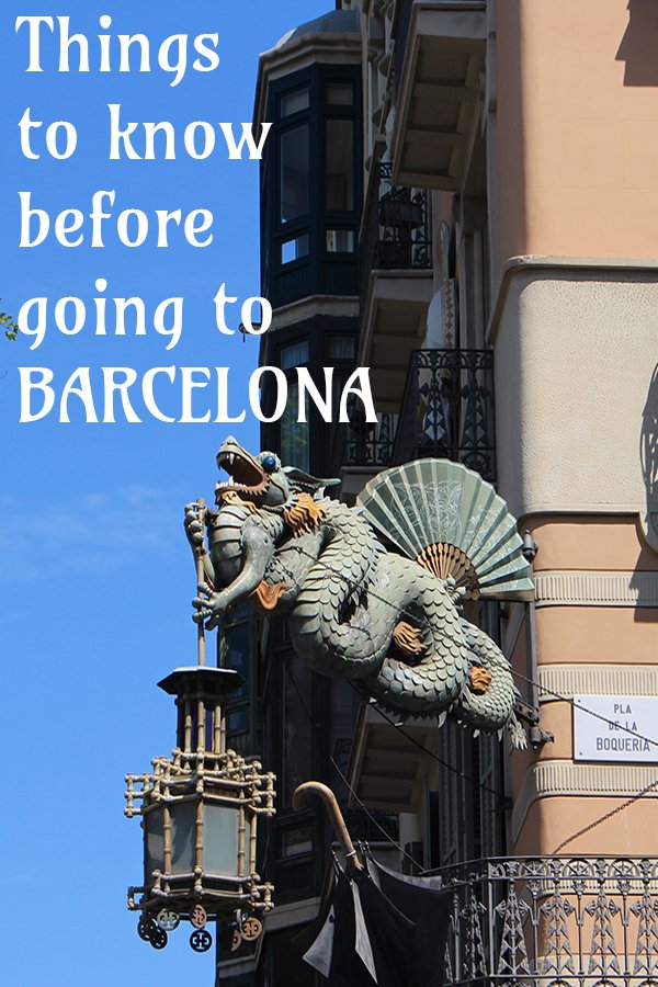 Things to know before going to Barcelona | Travel tips for Barcelona