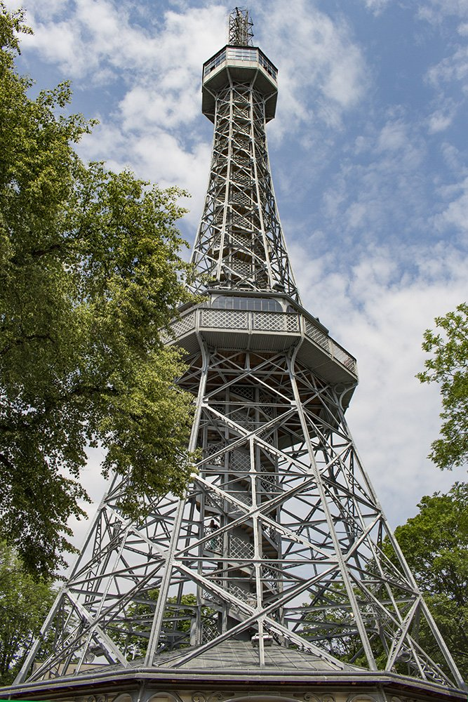 Petrin Tower in Prague
