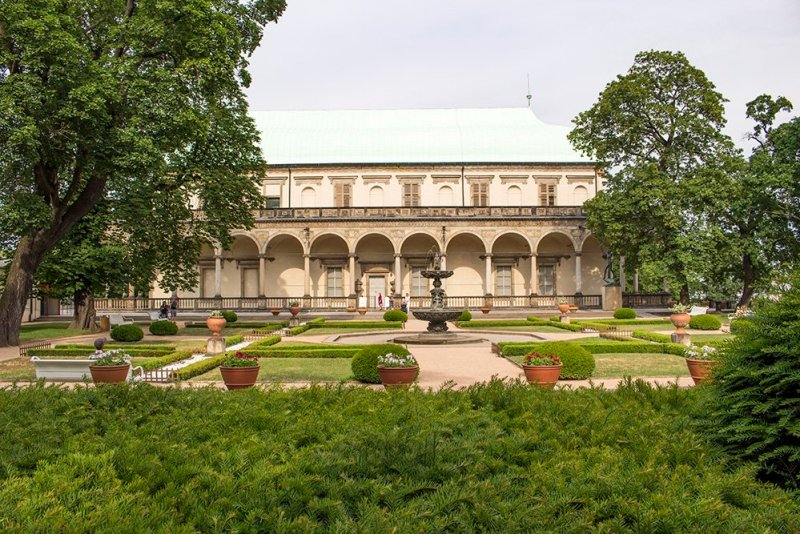 The Royal Garden in Prague Castle