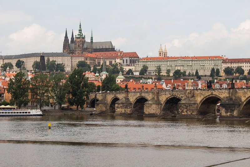 Where to find the best viewpoints in Prague | View from Karlovy Lazne tram station