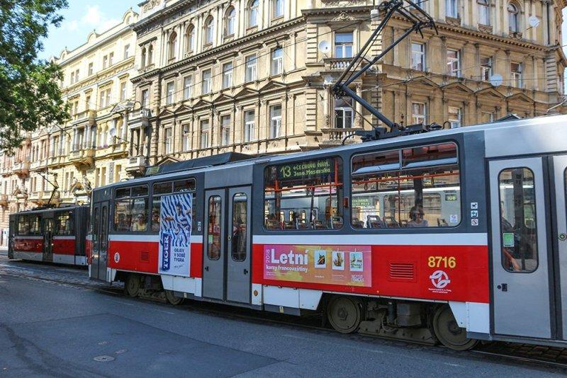 A useful guide to Prague public transport   Trams in Prague