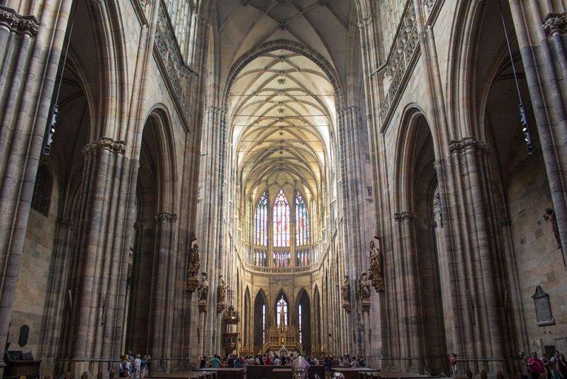 В соборе Святого Вита в Пражском граде
