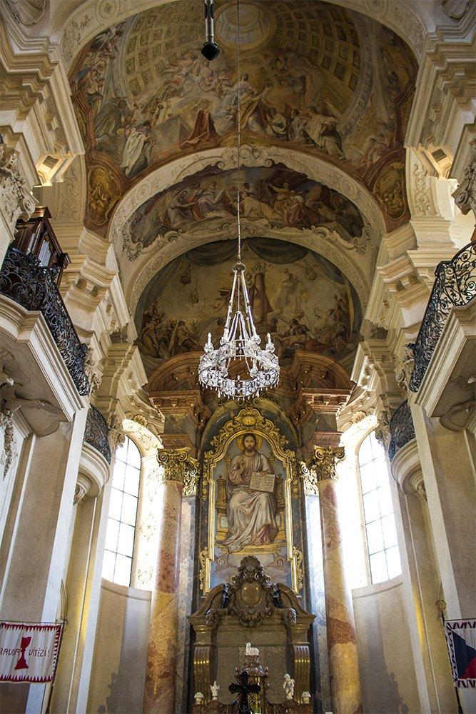 Что посмотреть в Праге: Церковь Святого Николая