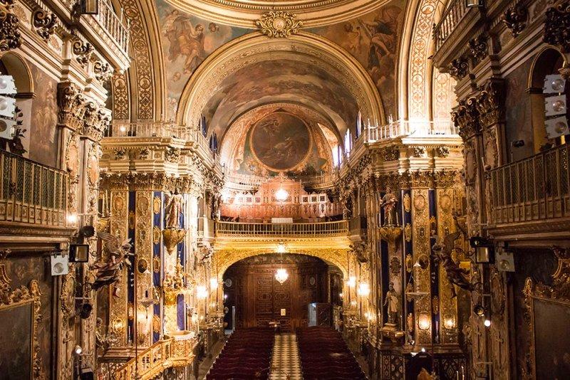 Базилика Святого Иоанна - Сан-Хуан-де-Диос в Гранаде