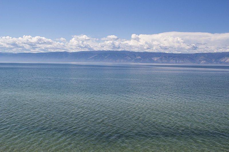 The waters of Baikal Lake