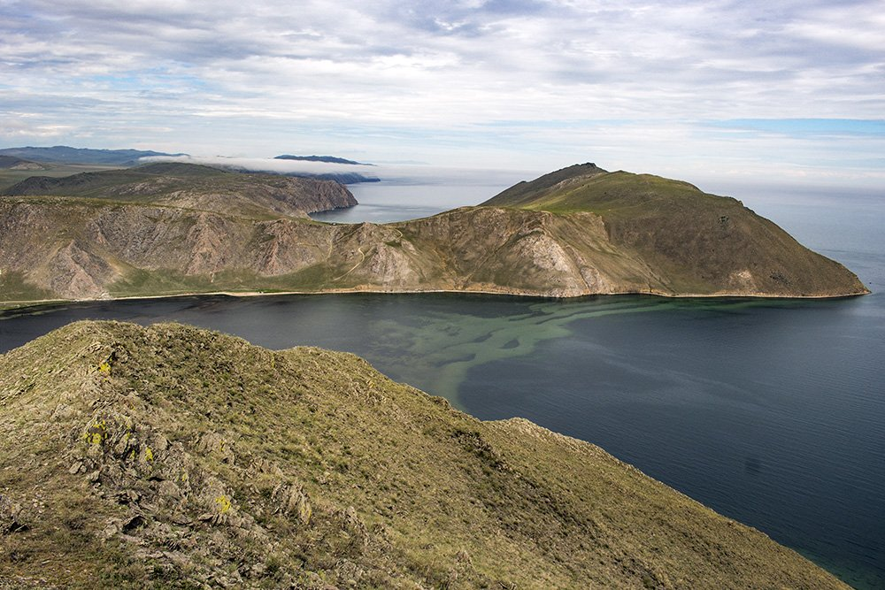 The view from Shebeta Mountain in Tazheran Steppe