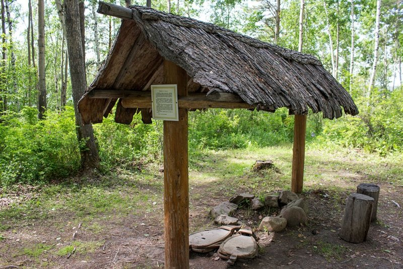 An Evenk smithy in Taltsy Museum