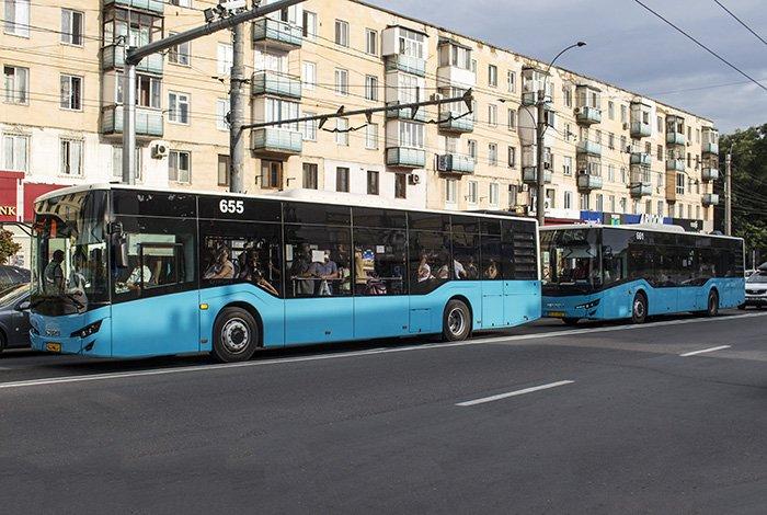 Buses in Chisinau