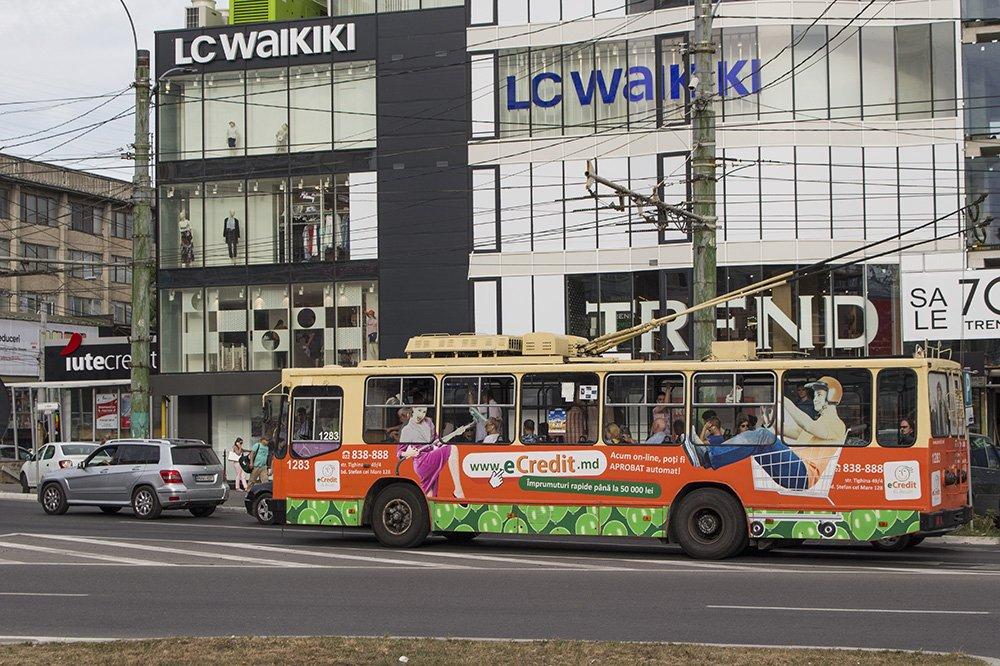 Public transport in Chisinau