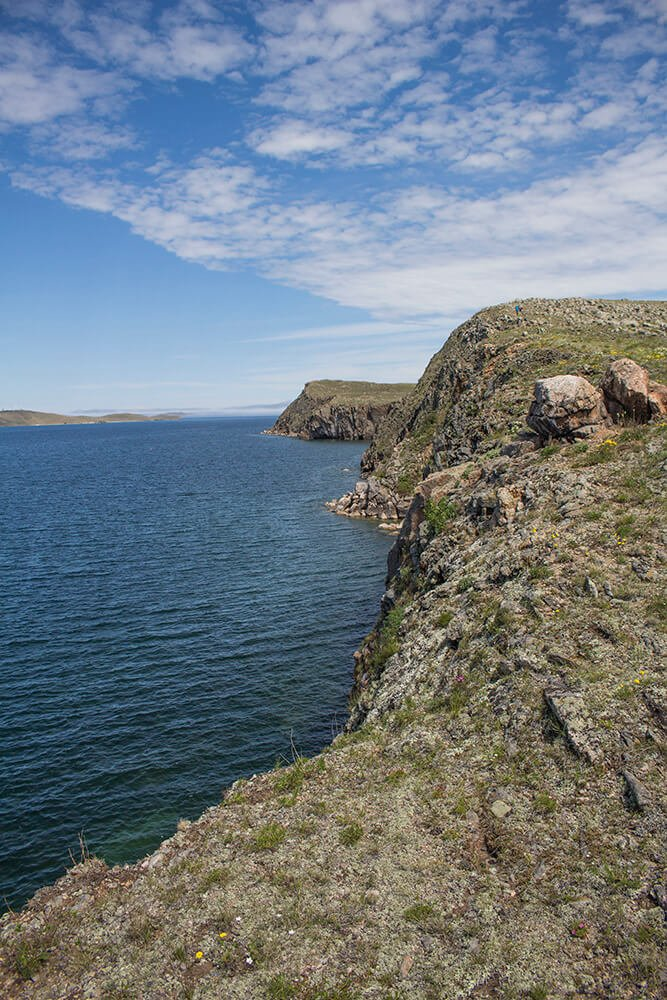 Khorgoy Cape in Olkhon