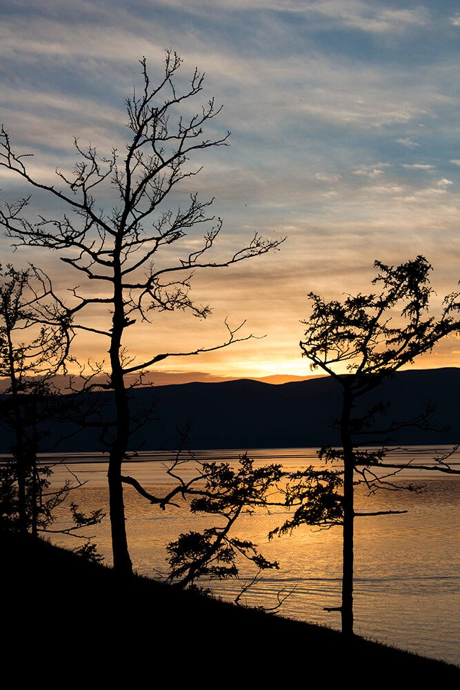 Sunset on Olkhon Island